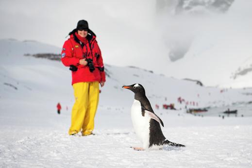 Potovanje na Antarktiko
