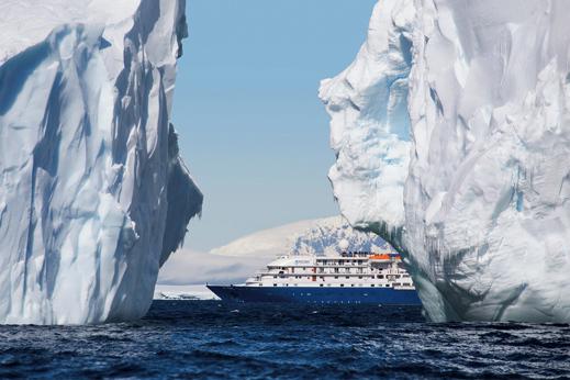 Krizarjenje Antarktika