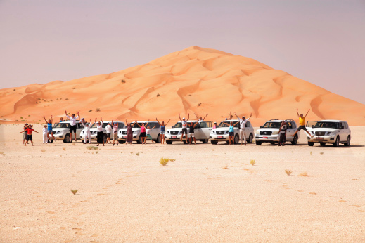 Sredi puščave Rub Al Khali