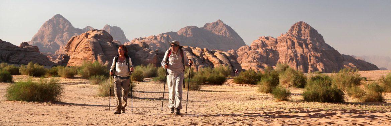 Puščavski treking Jordanija