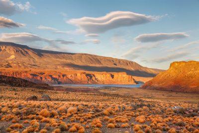 Osredni del argentinske Patagonije je popolna divjina, brez turističnih naselbin