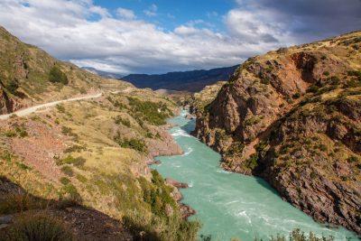 Blizu Cochrana, na poti v NP Patagonia