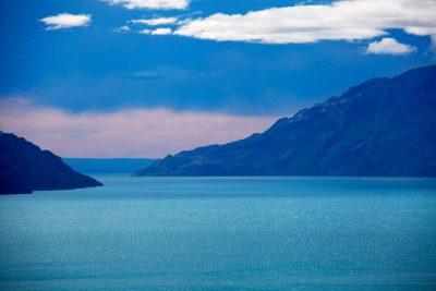 Lago General Carrera je drugo največje jezero v Južni Ameriki